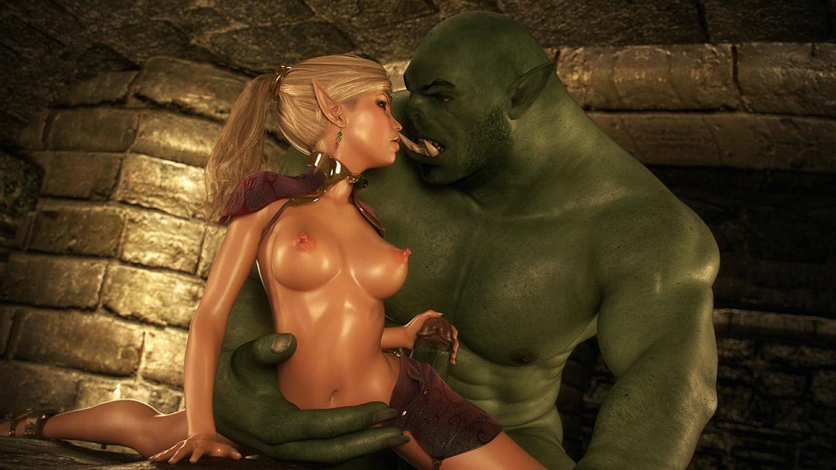 3д порно онлайн лесной эльфийки мультфильмы секс