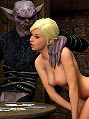 I can feel your tightness around my cock, girl - Knight Elayne Game Of Mischief by 3D Collection
